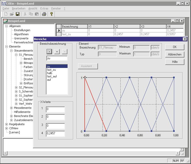 Screenshot von CONTROL - Bereiche