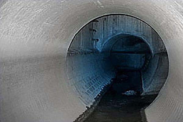 Abwasserableitung im Kanalnetz